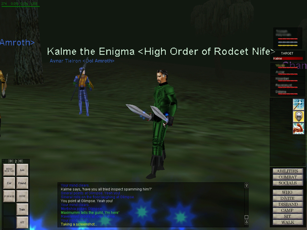 Kalme the Enigma <High Order of Rodcet Nife>